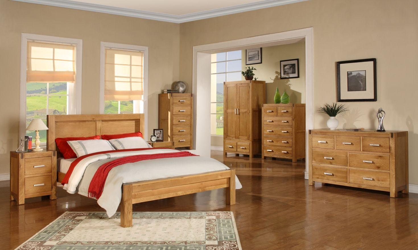 Oak Bedroom Furniture Sets Insanely Cozy Yet Elegant