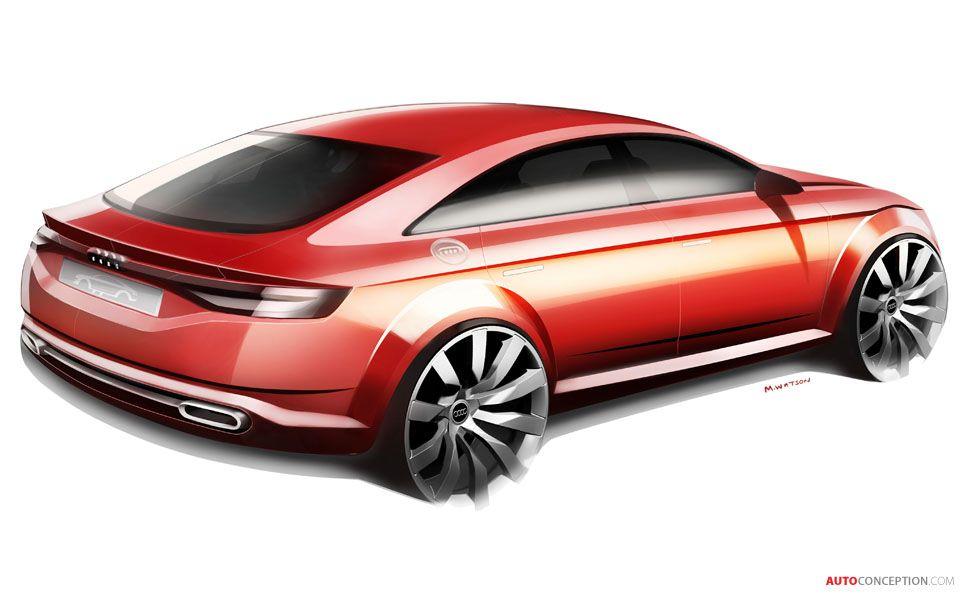 Audi Tt Sportback Car Design Sketch Design Automotive Design