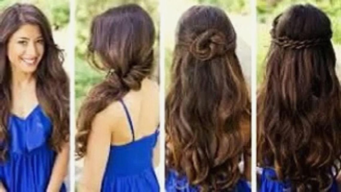 Simple Quick Hairstyles For Curly Hair curly hairstyles