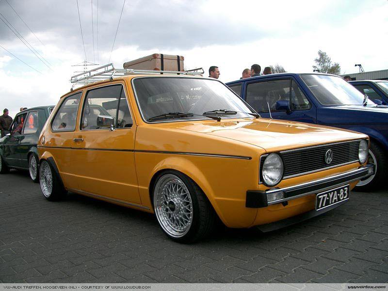 Mk1 Vw Rabbit Orange Roof Rack Volkswagen Golf Mk2 Volkswagen Golf Vw Rabbit