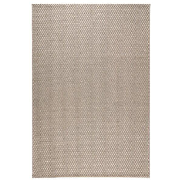 MORUM Alfombra intexterior, intext beige, 200x300 cm