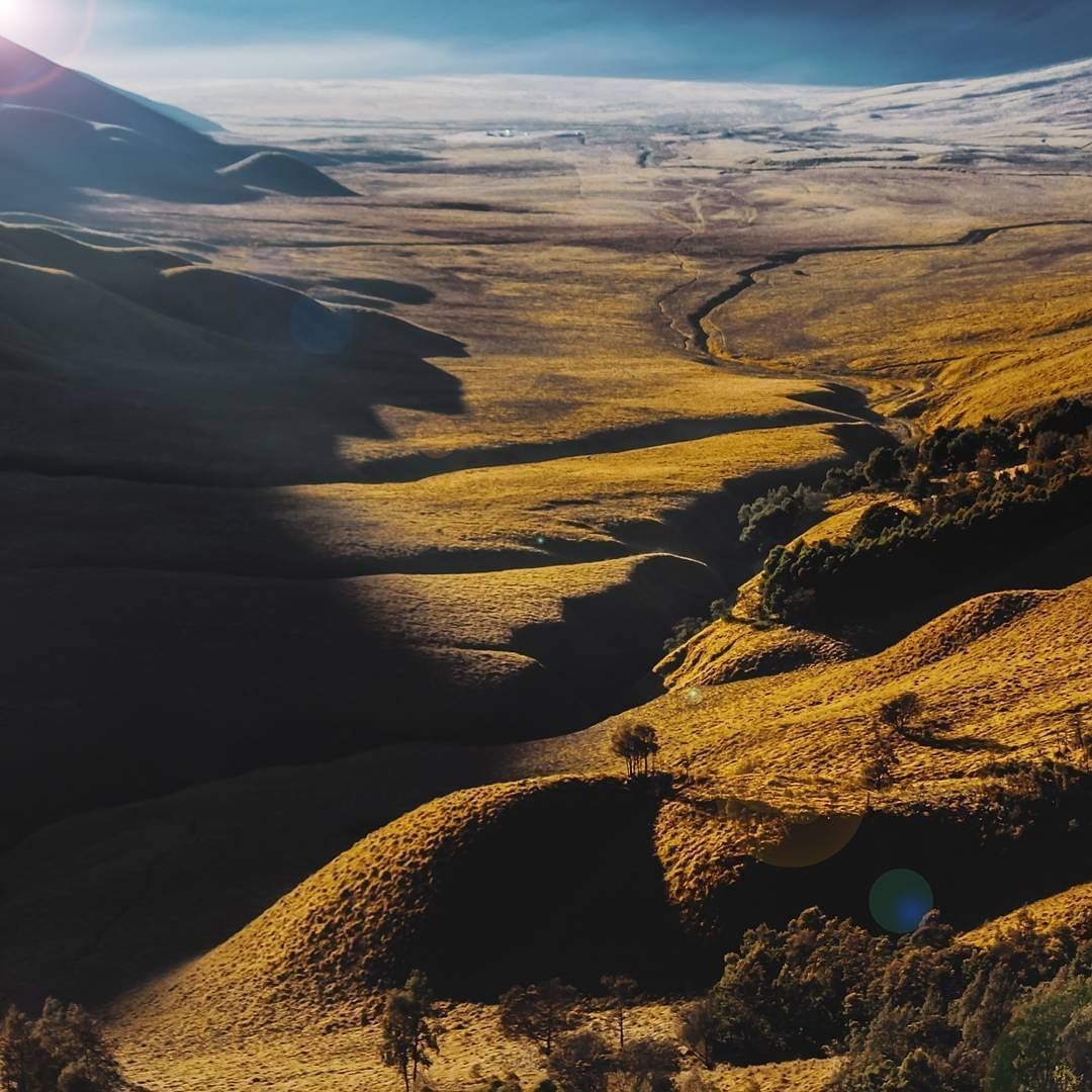 A beautiful view of Bromo, East Java, Indonesia Photo by