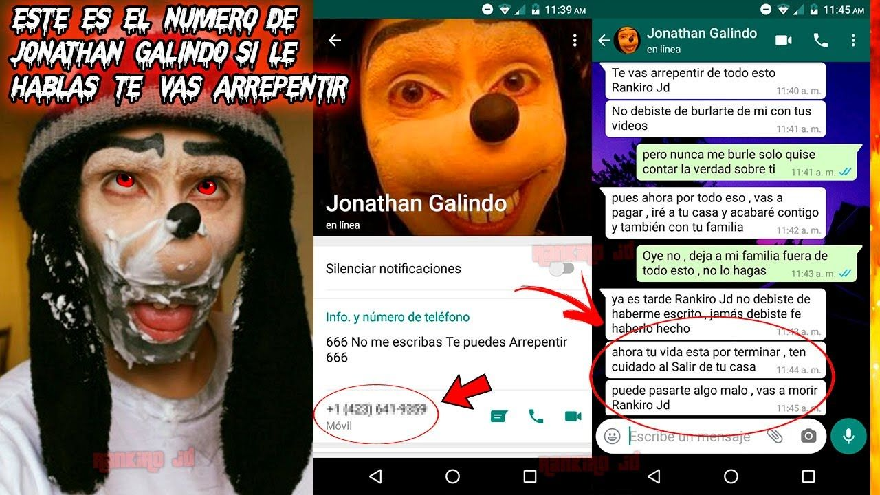 Jonathan Galindo Nummer