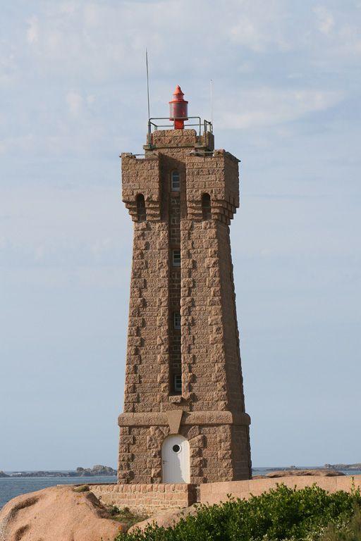 Ploumanac'h Men Ruz Leuchtturm - Bretagne- Frankreich