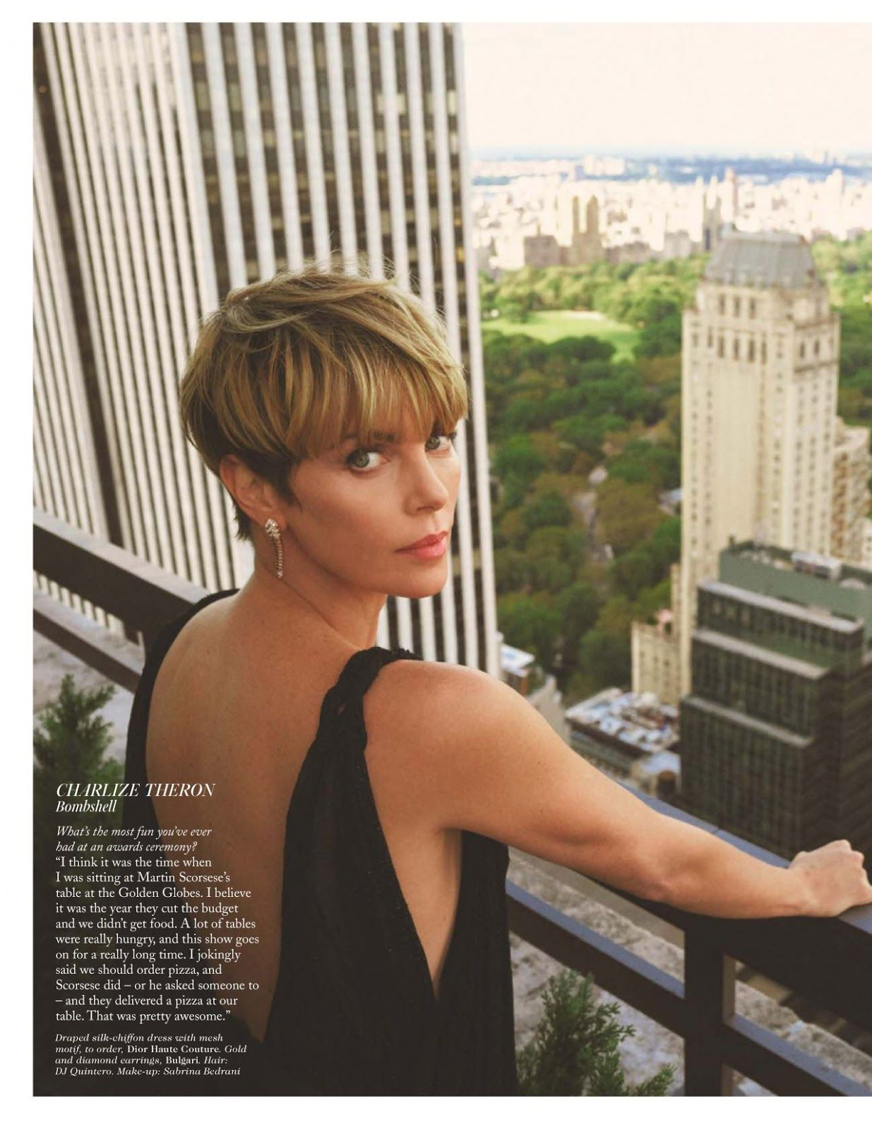 Celebmove Charlize Theron Vogue Uk February 2020 In 2020 Charlize Theron Short Hair Short Hair Styles Charlize Theron Hair