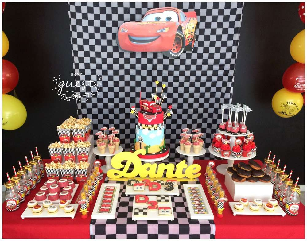 Cars Disney Movie Birthday Party Ideas In 2019 Disney