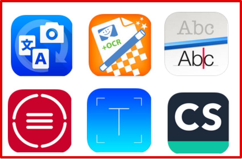 استخراج النص من الصور 6 تطبيقات أيباد لـ استخراج النص من الصور و تحويلها إلى أحرف رقمية Ipad Learning Ipad Apps Mobile Learning