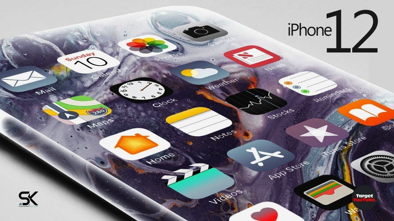 Apple Iphone 12 Pro And 12 Pro Max 2020 What Will Look Like Apple Iphone New Iphone Iphone