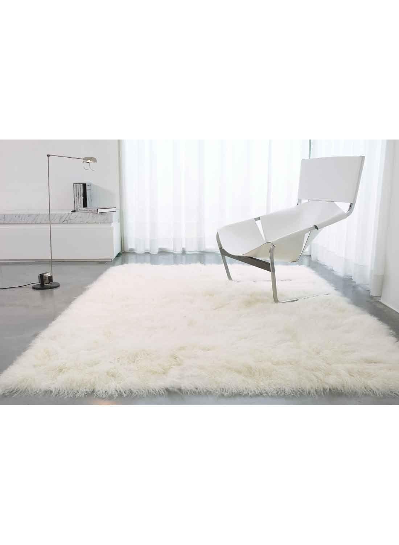 Tapis Long Poil Blanc impressionnant tapis poils longs blanc | décoration