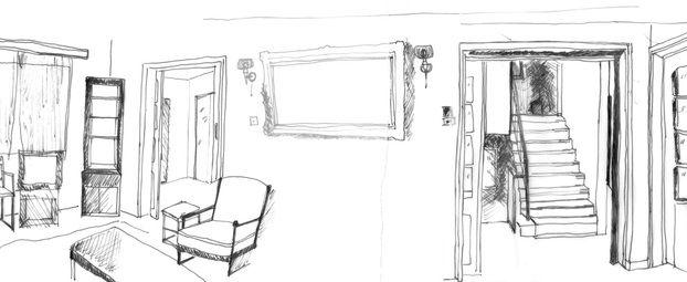 Ma Interior Design Thesis Stavri Papa Father Sketch Drawing Design Interior Architecture Design Interior