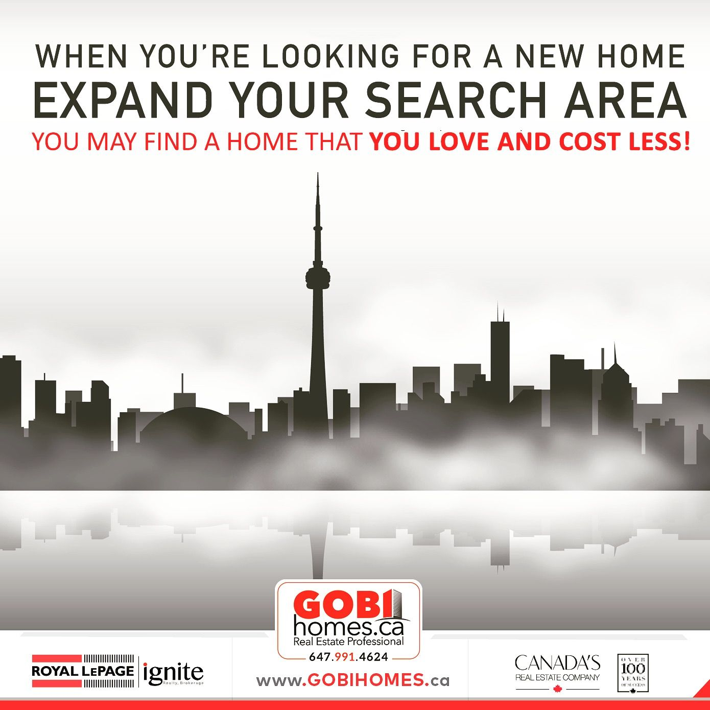 When Youu0027re Looking For A New Home Expand Your Search Area, You May Find A  Home That You Love And Cost Less! Please Call Or Text Today At ☎  647.991.4624 ...