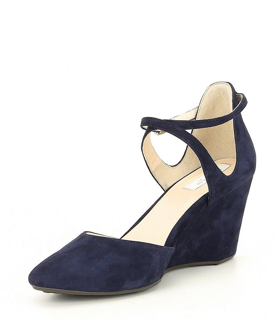 b5d4cf4209d0 Cole Haan Tali Leather Bow Detail Wedges in 2019 | My Style | Wedges ...