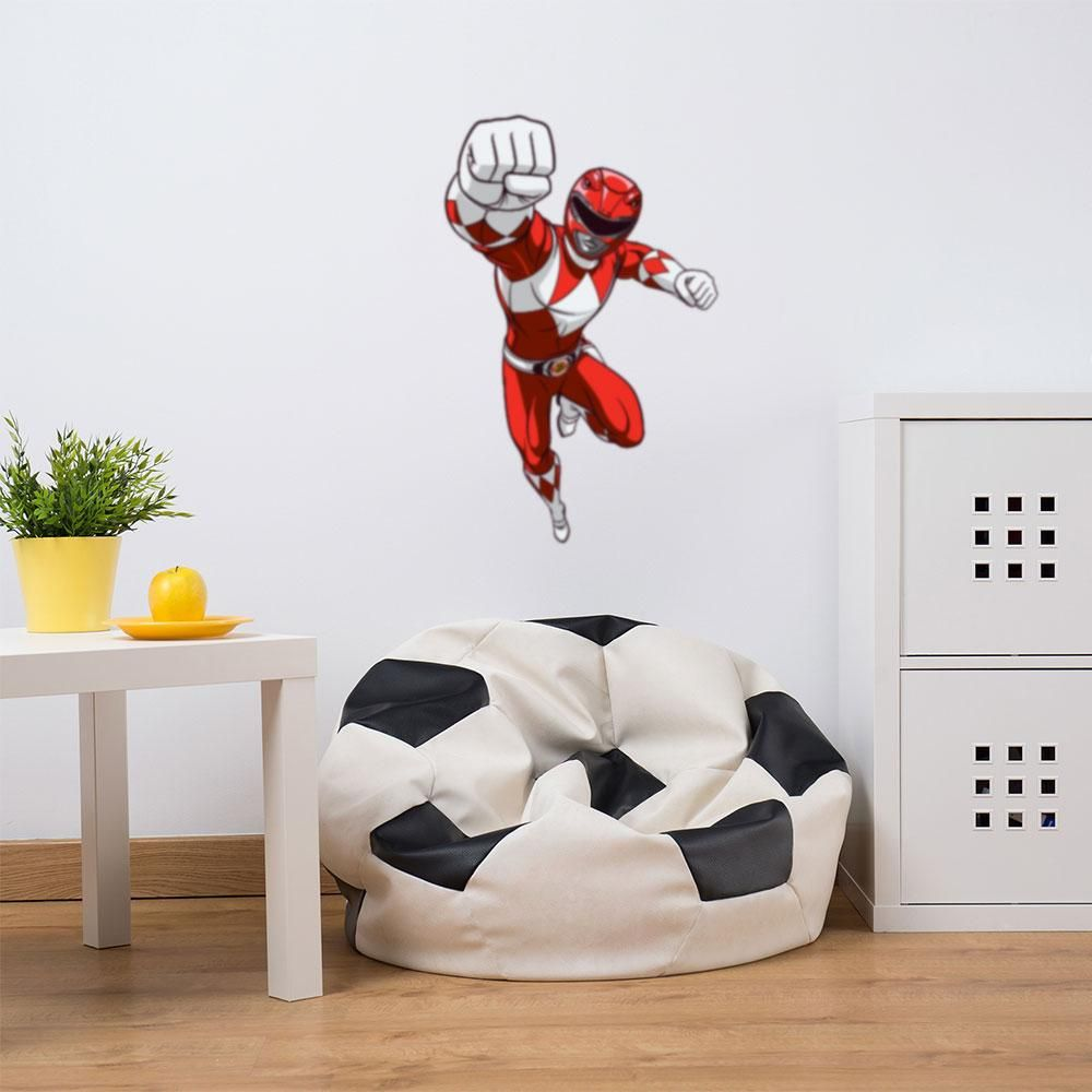 Mighty Morphin Power Rangers Red Ranger Wall Decal Mighty Morphin