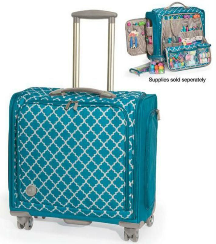 7976ca14d694 Craft Storage Tote Trolley Bag Scrapbooking Supplies Australia Cake ...