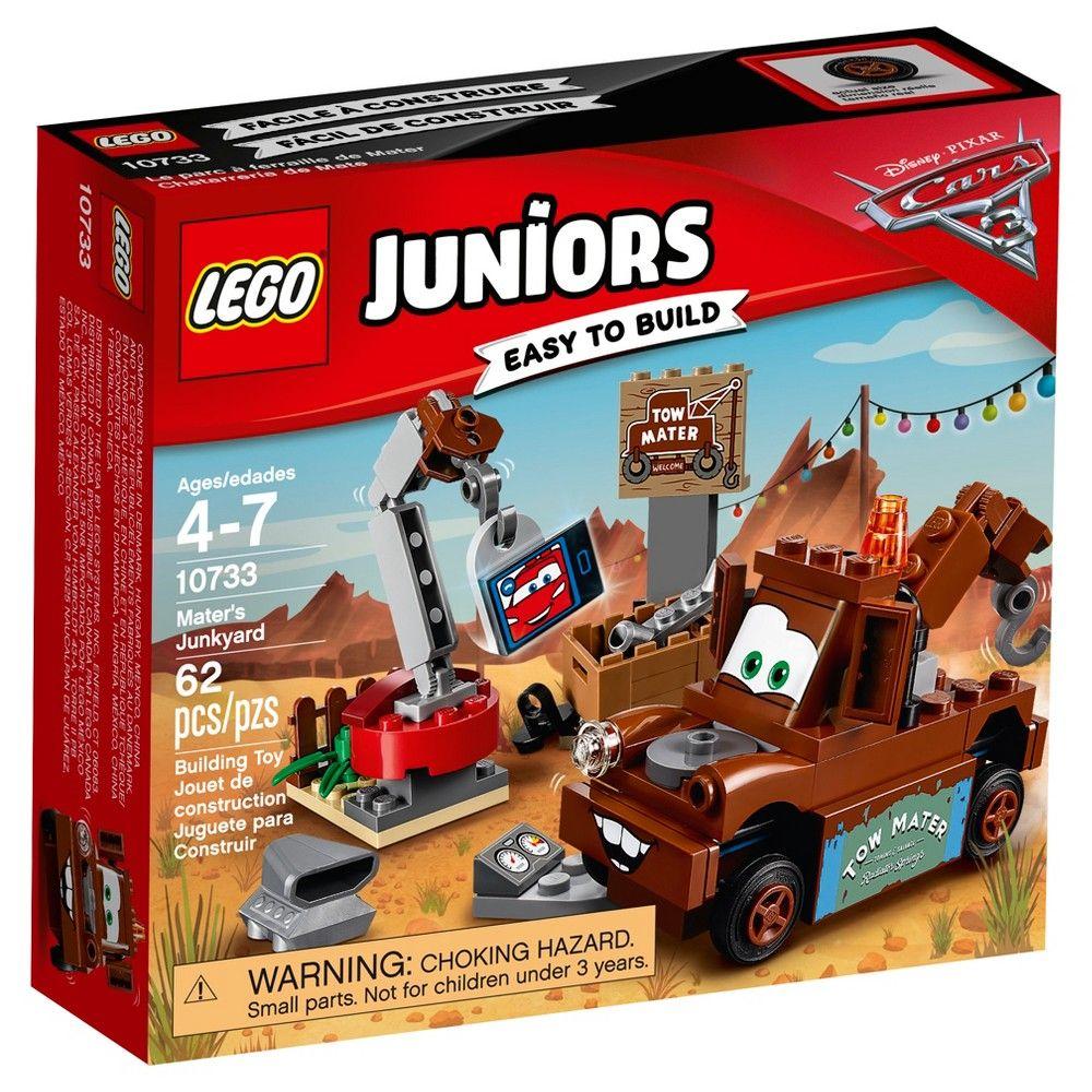 Car 3 toys  Lego Juniors DisneyPixar Cars  Materus Junkyard   lightning