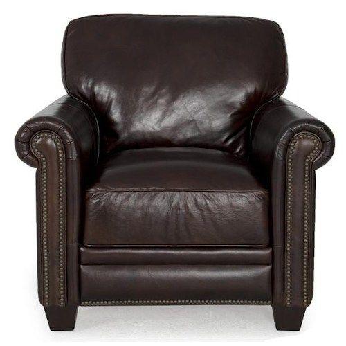 Superieur Dark Brown Leather Chair