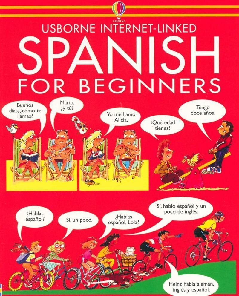 Spanish for Beginners Usborne Linked Angela