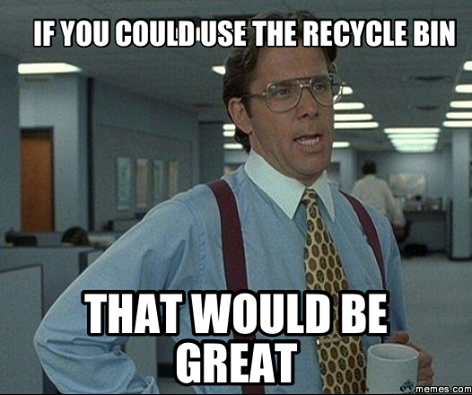 www.wasteconnectionsmemphis.com/ | Recycling Humor | Pinterest | Humor