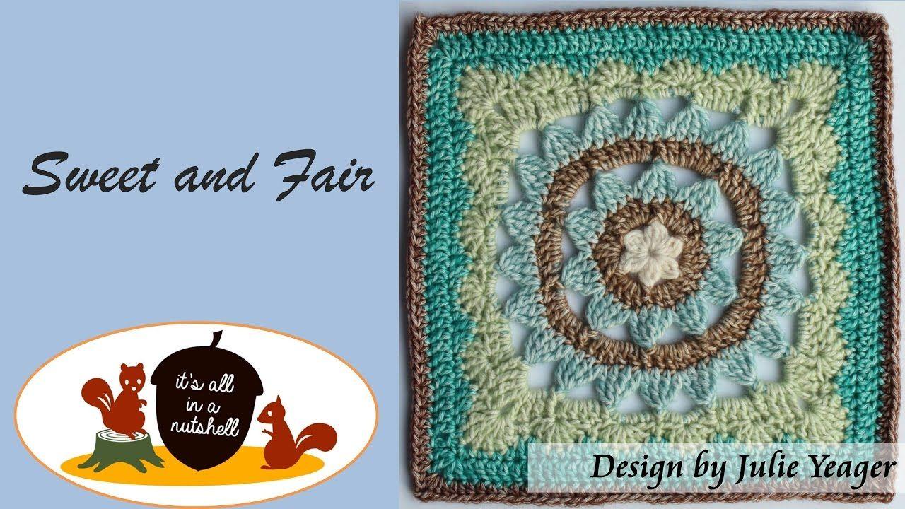 Sweet and Fair - Crochet Square | crochet | Pinterest | Ganchillo