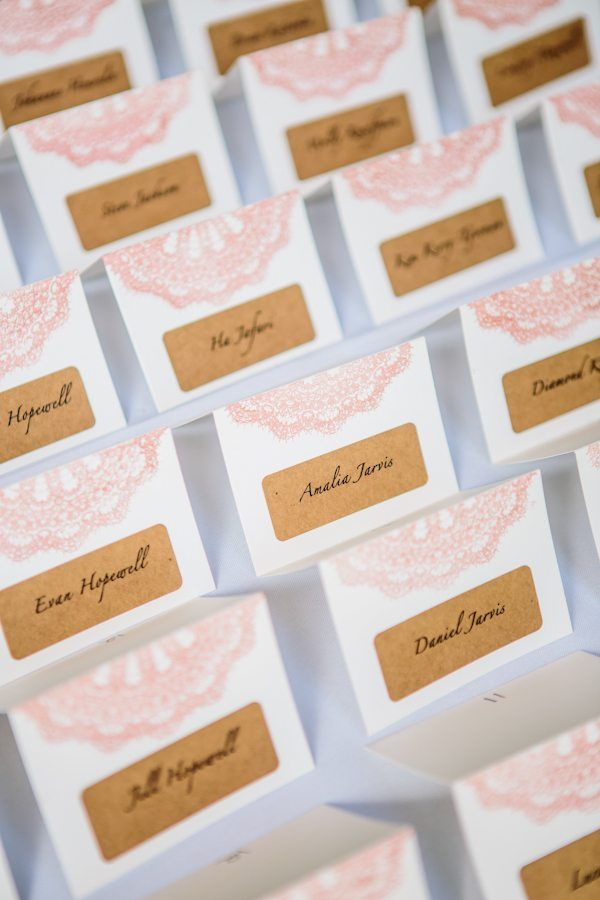 Lace stamp at top check out paper