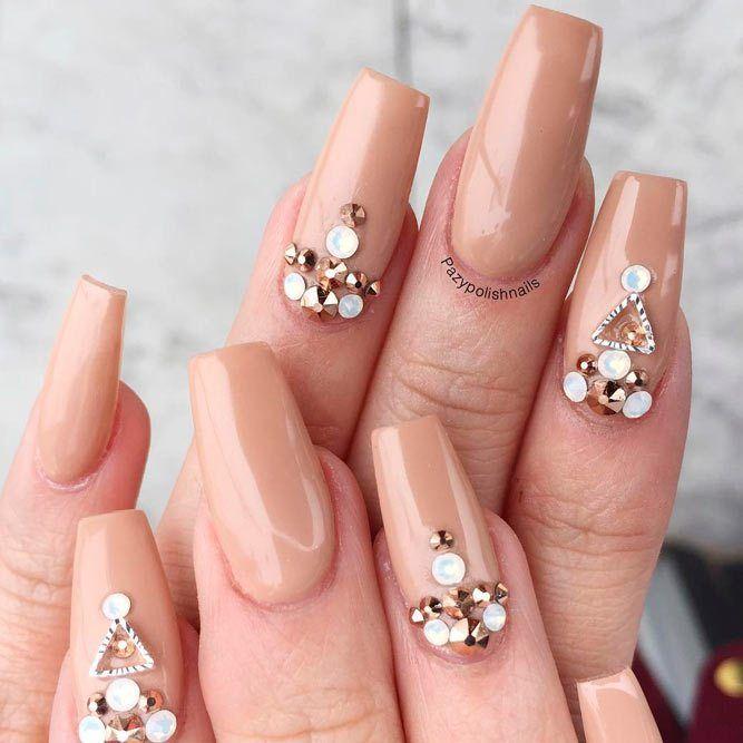 77 Designs for Trendy Gel Nails Polish Colors 2018   Nail polish ...
