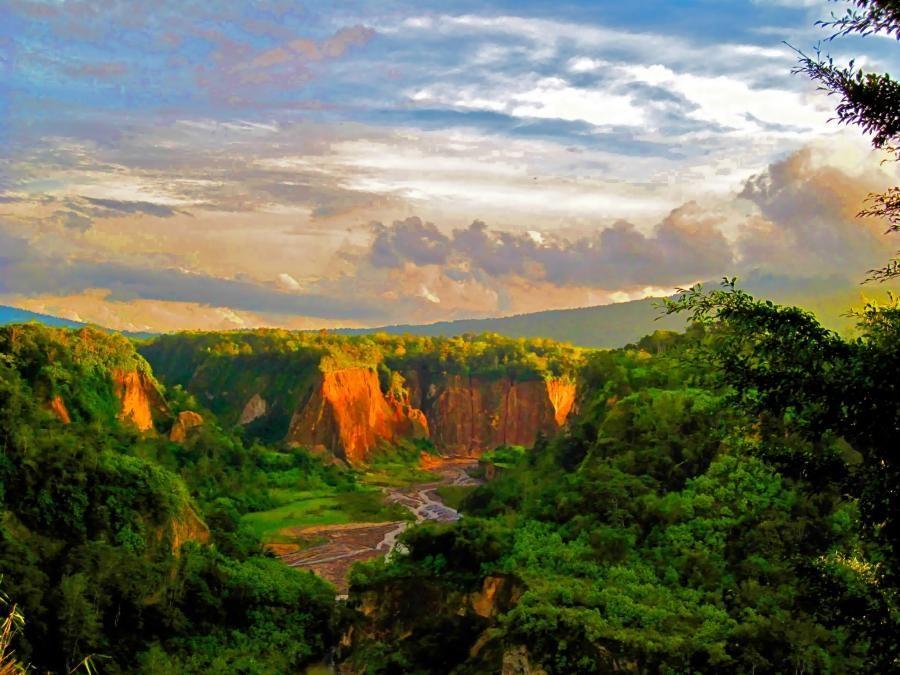 Some views around Southern Weyr perhaps  Ngarai Sianok