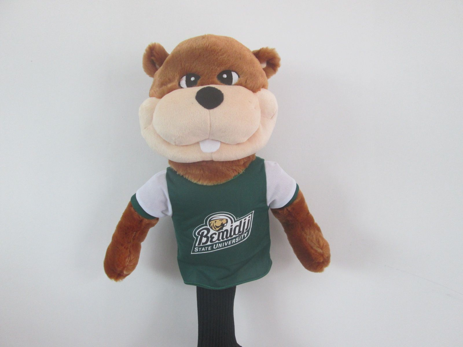 bucky the bemidji state beaver golf headcover please inquire about this product at mcgolfheadcovers integra net cost 29 golf headcovers bemidji mascot bemidji state beaver golf headcover