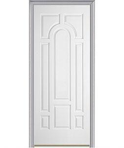 Single Door. Milliken Millwork. 8 Panel Center Arch   630