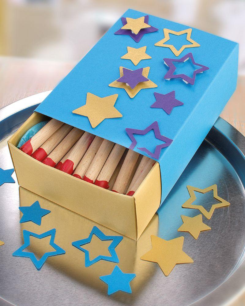 Streichholzschachtel selber machen idee mit anleitung klick auf besuchen - Geschenkverpackungen weihnachten selber basteln ...