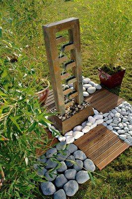 Fontaine 9 Gargouilles Cactose Chez Truffaut Decoration Mobilier Et Accessoires De Jardin Recreez L Ambian Accessoire Jardin Decoration Jardin Jardins