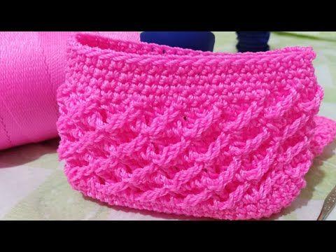 Monedero Tejido a Crochet paso a paso La Luna Del Crochet - YouTube