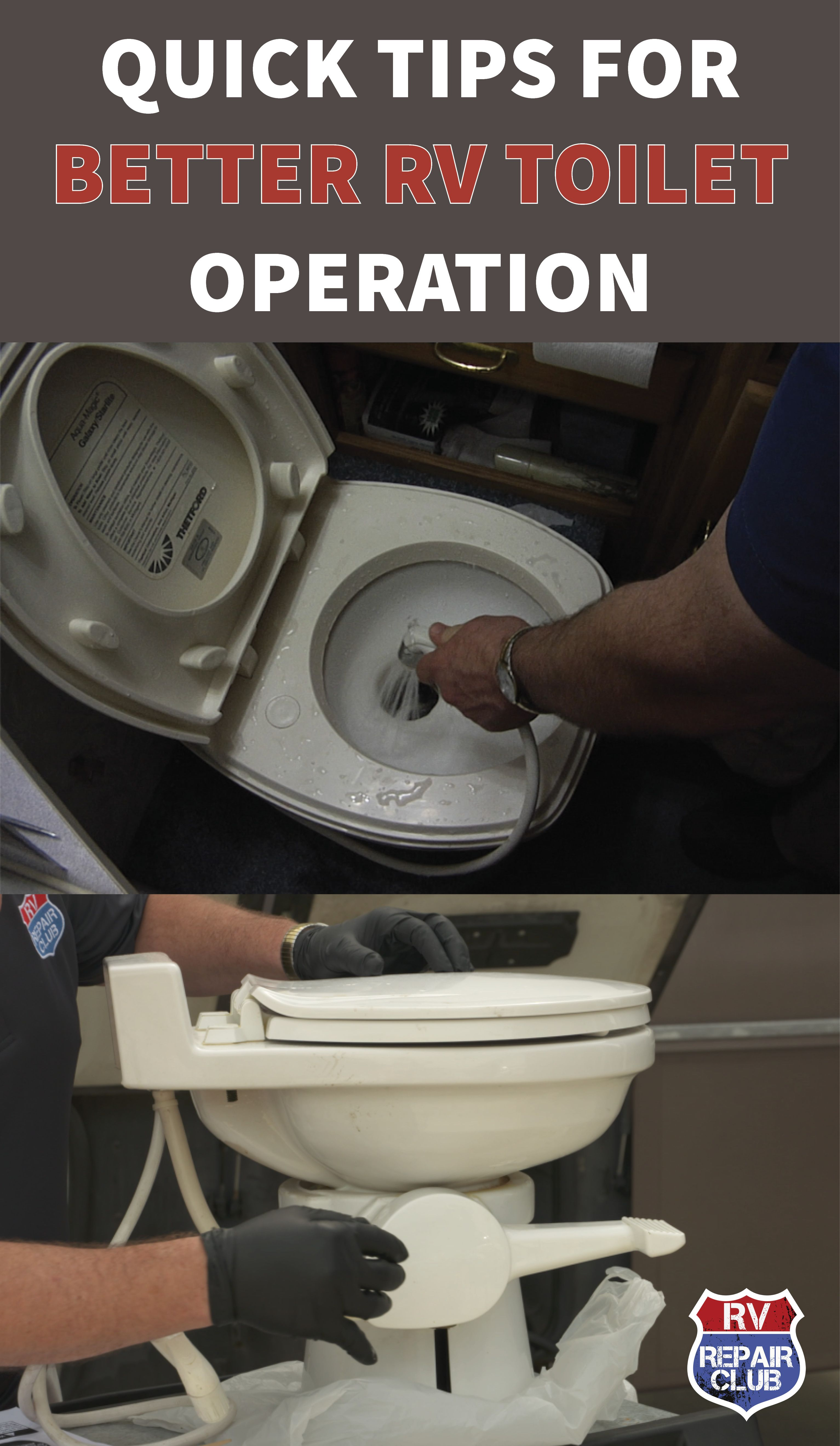 how to use rv toilet