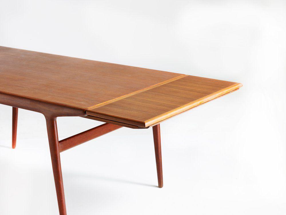 Teak spisebord - Johannes Andersen - Spiseborde - København K ...