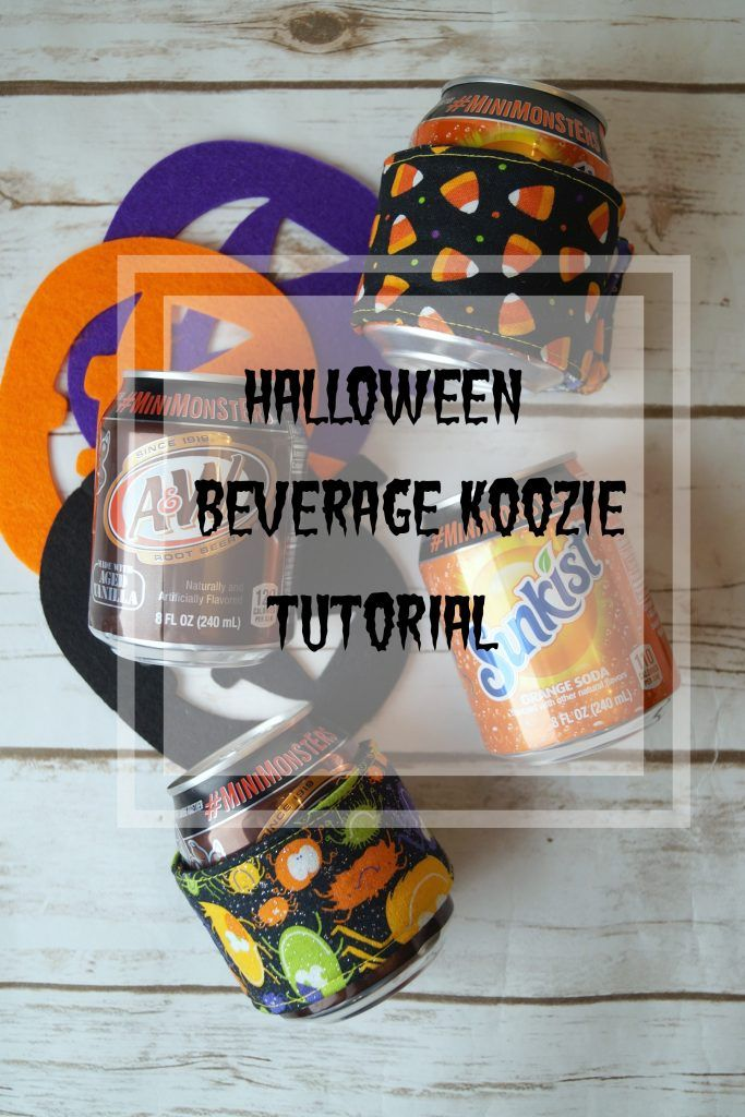 Tired of cold hands? Follow this simple beverage koozie tutorial