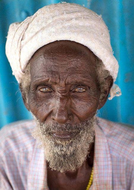 Shune Dilo Gabbra old man, Kenya by Eric Lafforgue, via Flickr