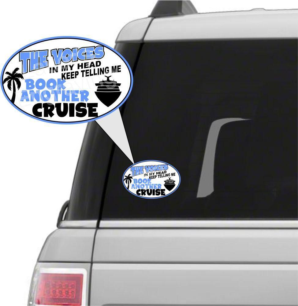 Car Decal Window Decal Cruise Decal Car Sticker Window Sticker Cruise Sticker By Lauersengraving On Etsy Window Decals Car Decals Car Stickers [ 1002 x 974 Pixel ]
