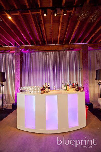 Bar for Lounge by Blueprint Studios Event inspiration at Cliff Lede - new blueprint interior design magazine