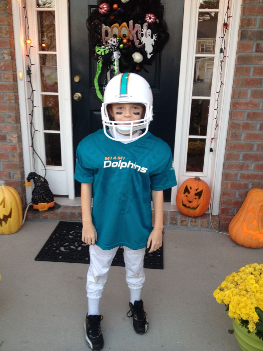 miami dolphins football player | our past halloween costumes