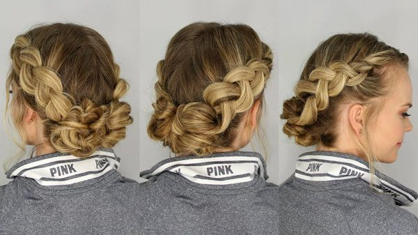 Best Hairstyles To Go With A High Collar Dress Hair Styles Cool Hairstyles Homecoming Hairstyles