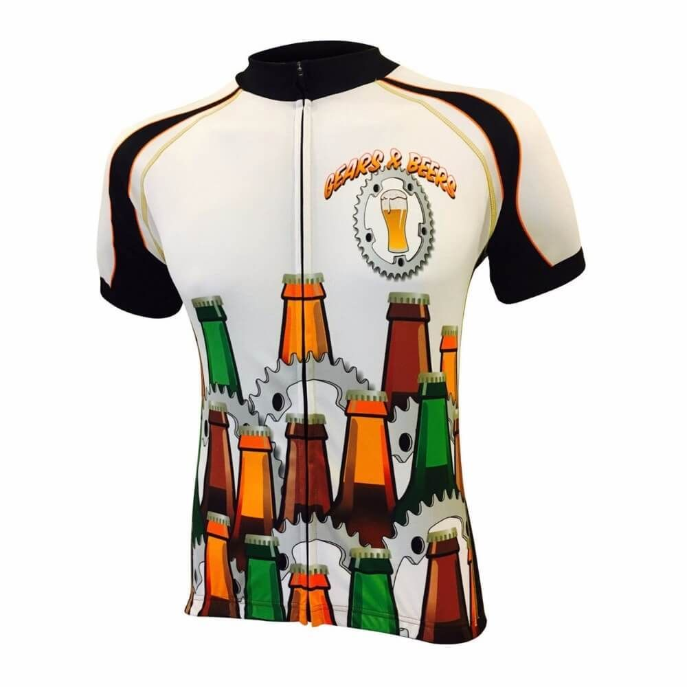 28ed3e62c Gears Beer Cycling Jersey