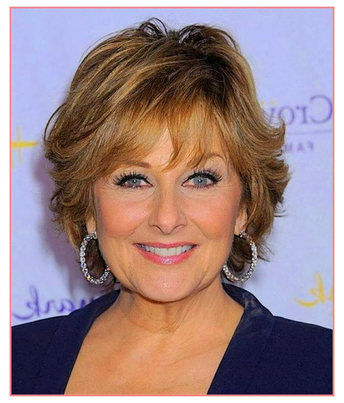 Brilliant Ideas Short Curly Hairstyles For Round Faces Over 50 Short Hair With Layers Hair Styles For Women Over 50 Thick Hair Styles