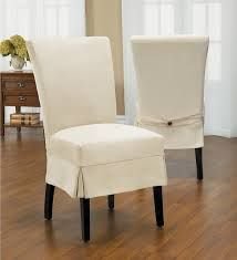 Image result for loose covers for dining room chairs pleat ...