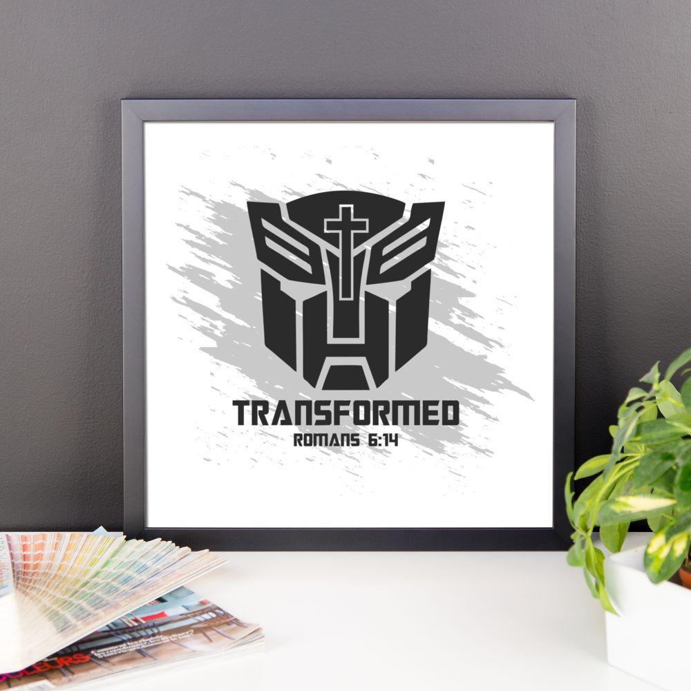 Transformed Framed Poster