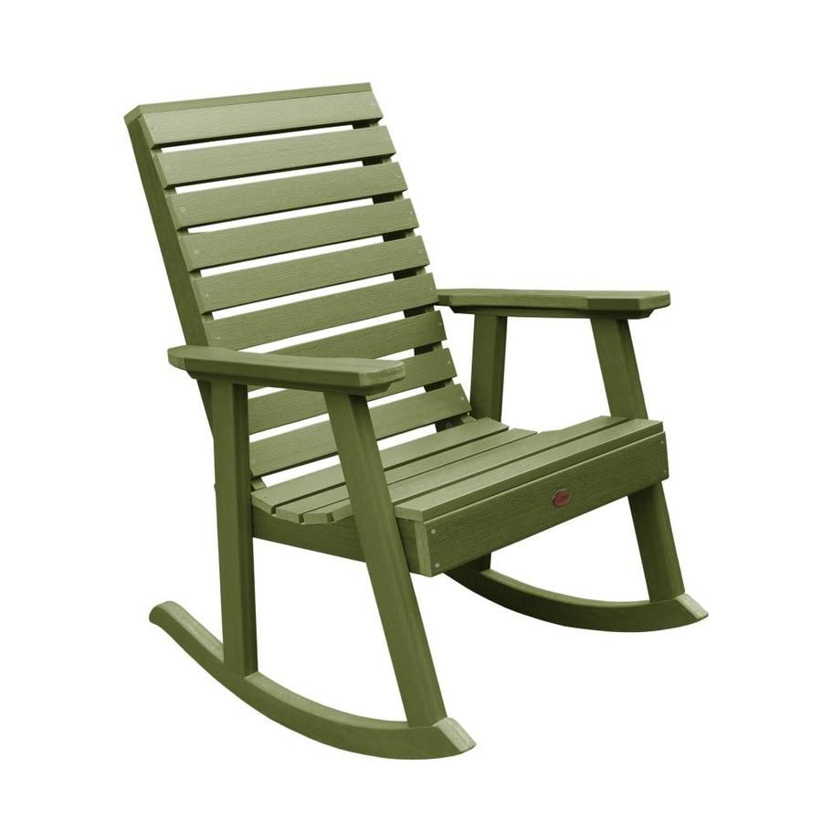Highwood The Weatherly Collection Plastic Rocking Chair S With