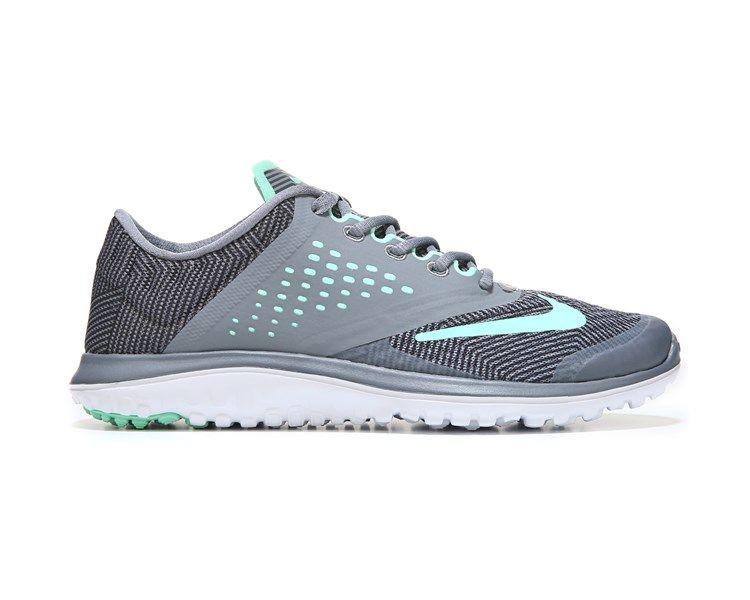 75e44b064cfb Nike FS Lite Run 2 Running Shoe Grey Green Anthro
