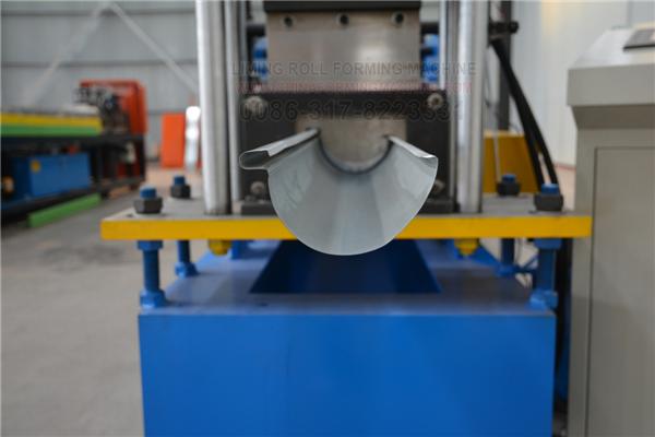 Pin On Steel Gutter Rain Gutter Roll Forming Machine