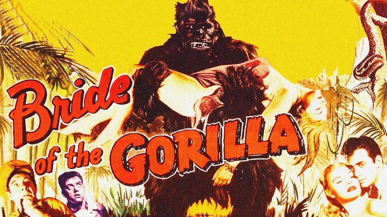 Bride of the gorilla 1954 tinted print in 2020