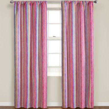 Kid\'s bedroom - little girl\'s room - curtains - Stripe Pocket ...