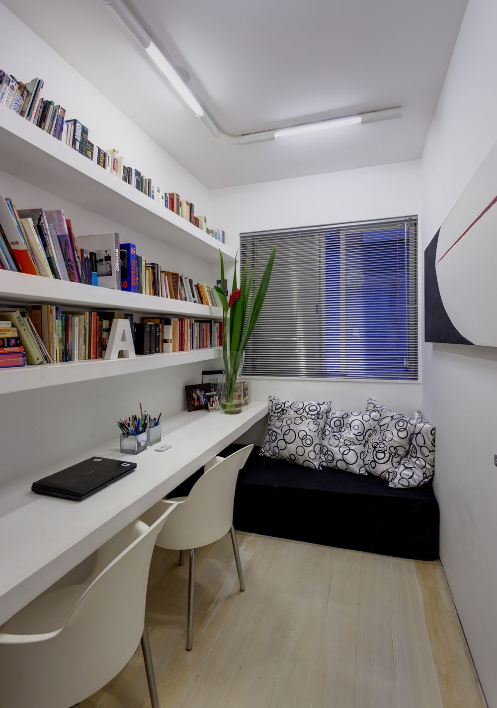home office e quarto de hospedes compacto DOCE LAR Pinterest