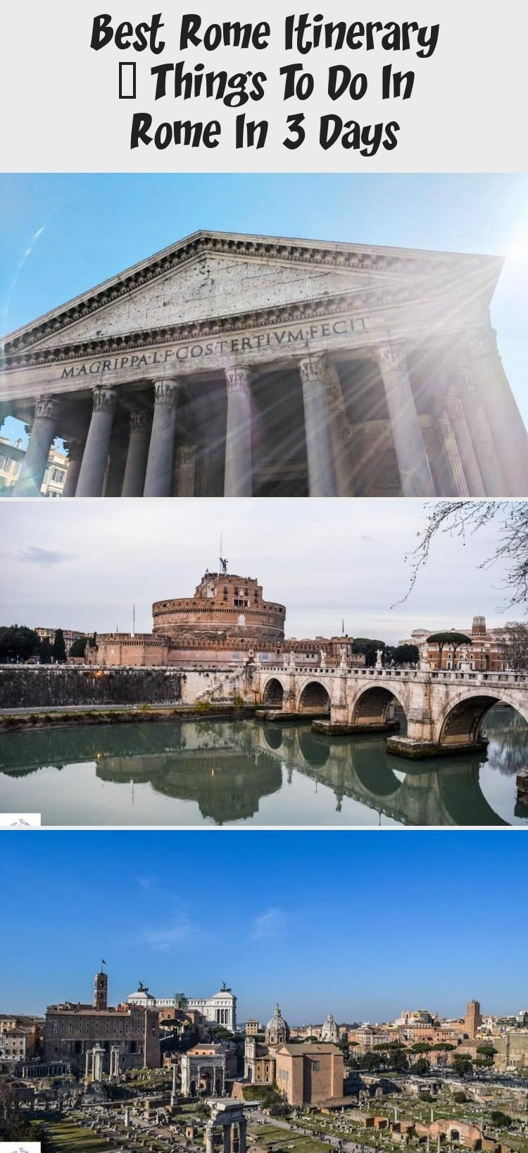 Best Rome Itinerary – Things To Do In Rome In 3 Days in ...